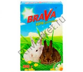 Корм Для Кроликов Brava (Брава) 400г