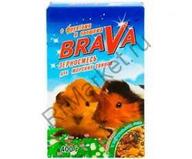 Корм Для Морских Свинок Brava (Брава) Фрукты и Овощи 400г