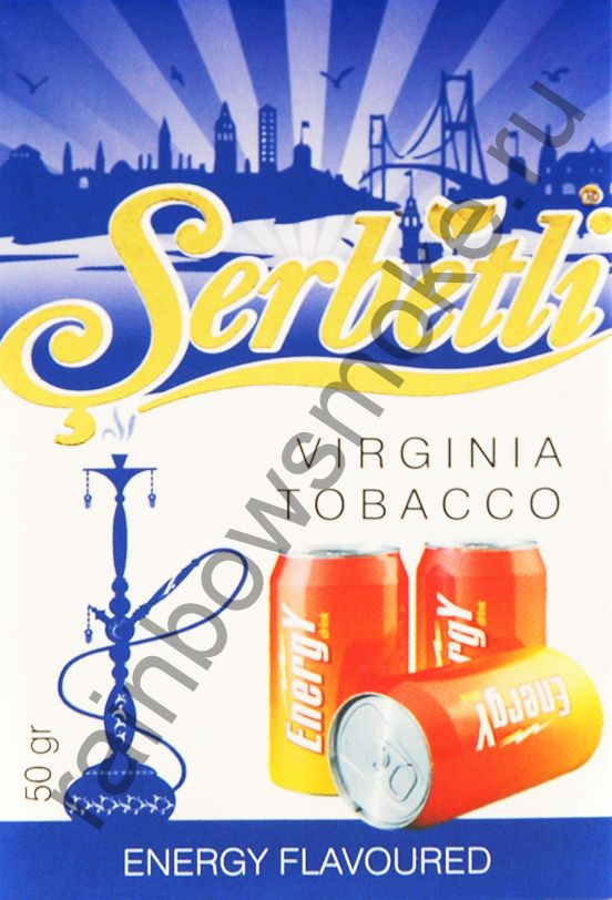 Serbetli 50 гр - Energy (Энергетический напиток)