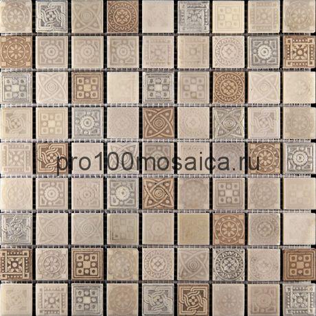 LGN-3. Мозаика 30*30*10, серия LEGEND,  размер, мм: 300*300 (Skalini)