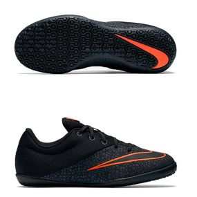 Детские футзалки Nike MercurialX Pro IC Junior чёрные
