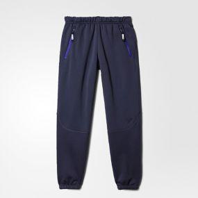 Детские спортивные штаны adidas Boys/Girls 1-side Fleece Pants тёмно-синие