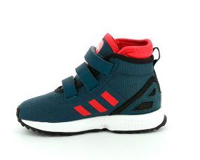 Детские кроссовки adidas ZX Flux Winter Comfort Infants синие