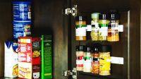 Кухонный органайзер Clip-N-Store для шкафов и холодильников (на 20 позиций)