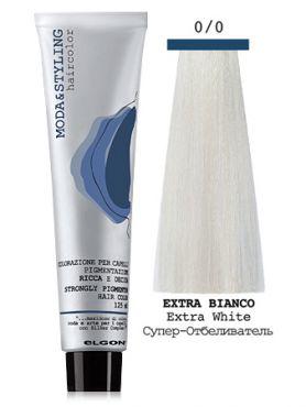 Elgon MODA STYLING Перманентная крем-краска  0/0 Супер-Осветлитель