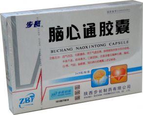 100 шт Бучанская капсула Наосиньтун (Naoxintong), 36шт