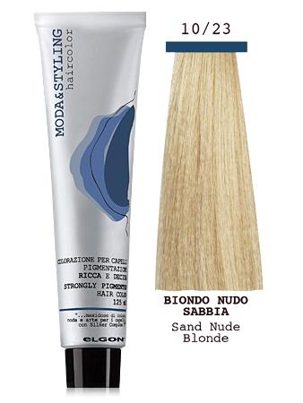 Elgon MODA&STYLING Перманентная крем-краска 10/23 Чистый блонд песок