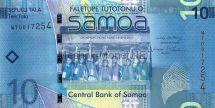 Банкнота Самоа 10 тала 2008 год