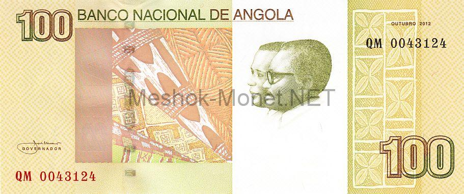 Банкнота Ангола 100 кванза 2012 год