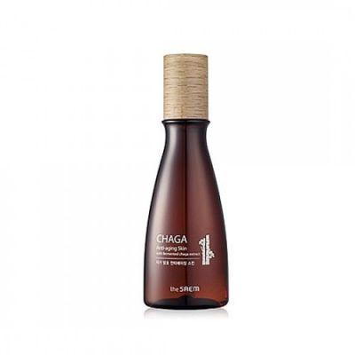 SAEM CHAGA Флюид антивозрастная обогащенная с экстрактом чаги CHAGA Anti-wrinkle Skin