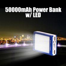 Внешний аккумулятор power bank 50000mAh