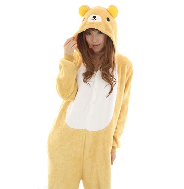 Пижама Кигуруми Медведь Рилаккума_01