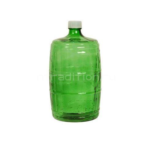 Бутыль стеклянная, 10 л (казацкая)