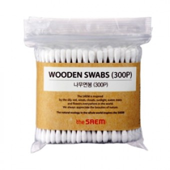 SAEM Ватные палочки Wooden Swab