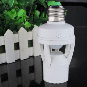 Патрон для лампочек с датчиком движения
