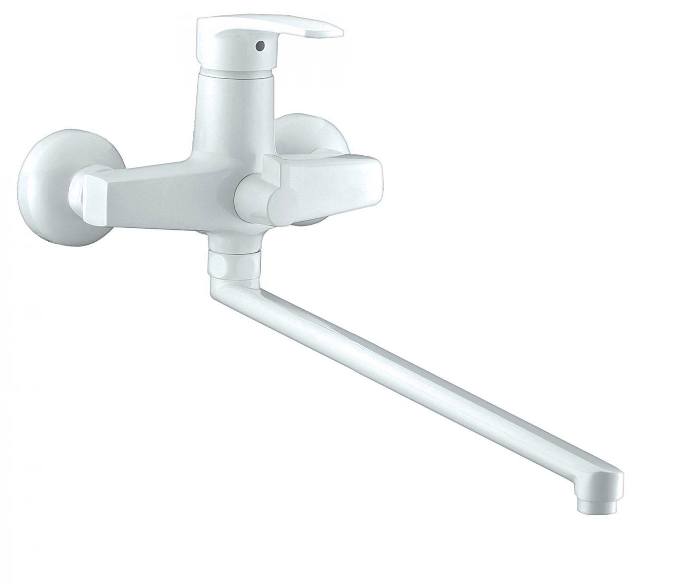 Смеситель для ванны Elghansa Monica 5322319 (белый)