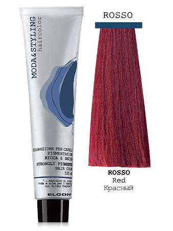 Elgon MODA&STYLING Перманентная крем-краска Красный