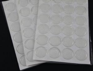 Прозрачный слой с блестками. Диаметр 25 мм, материал-эпоксидная смола. (1 уп. = 24 шт)
