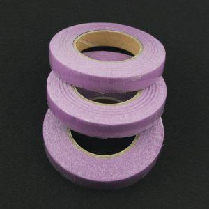 `Флористическая лента (тейп лента), ширина 12 мм, цвет сиреневый