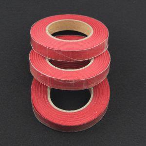 `Флористическая лента (тейп лента), ширина 12 мм, цвет красный