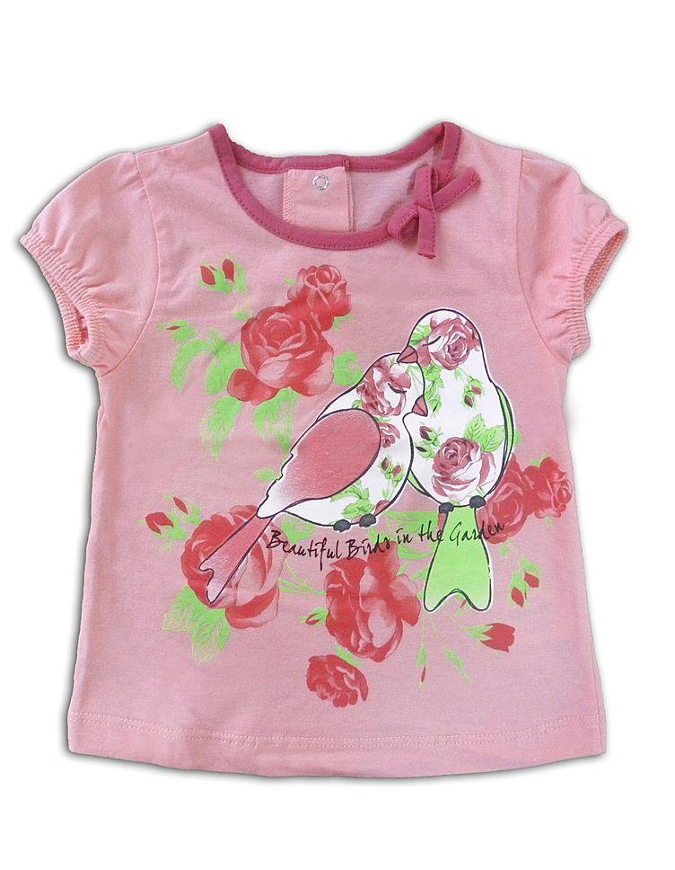 Блуза для девочки Флора