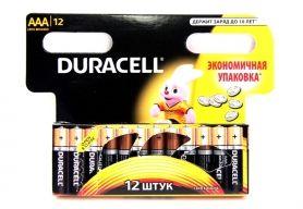 Батарейка алкалиновая DURACELL LR03 BL12 (12x12=144) ALKALINE ААА