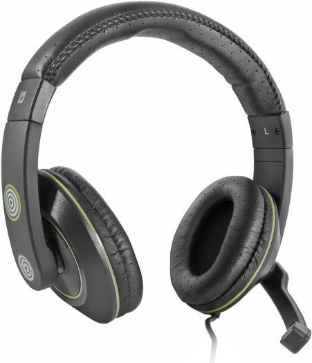 Мониторные наушники с микрофоном Игровая гарнитура Defender Warhead HN-G110 черный, кабель 2,1 м