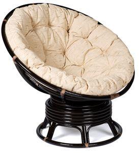 Кресло-качалка из ротанга вращающееся Папасан Papasan 2301B