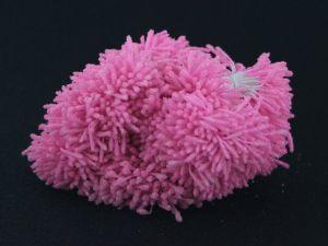 """`Тычинки """"стеклярус"""" двухсторонние, размер 2х60 мм, цвет светло-розовый, 1 уп = 70-80 тычинок"""