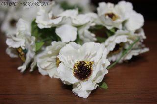 """Цветы из ткани """"Совершенство"""""""