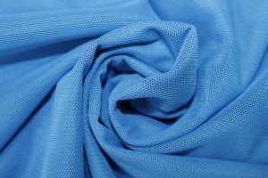 Сетка стрейч 20675  голубой
