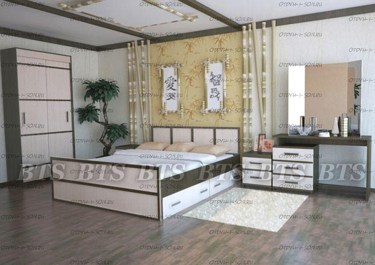 Спальня Сакура №3 BTS