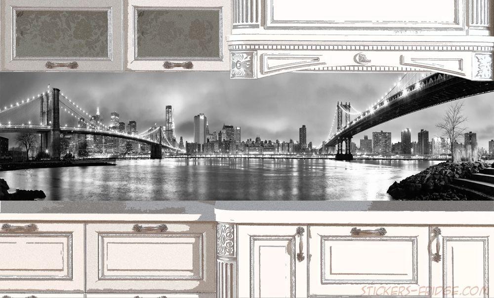 Фартук для кухни - New York 1