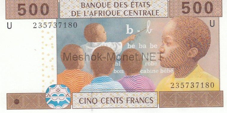 Банкнота Камерун 500 франков 2002 год