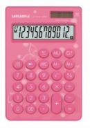 """Калькулятор настольный """"LP-1010-12PN"""", 12 разрядов, розовый  (12549)"""