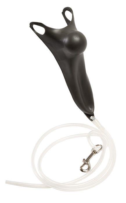Анальная пробка для кобыл с силиконовым ремнем