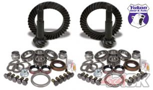 Yukon Gear & Install Kit package for Jeep JK Rubicon, 4.88 ratio