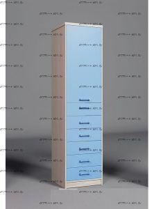 Шкаф-пенал Фанки Сити ФС-04 (55х56х223,3)