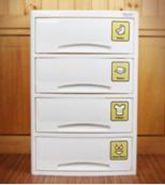 НОВИНКА HN7-504 Baby Step(4)(средний) Детский комод для хранения 4-х секционный Haenim toys