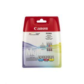 Картридж оригинальный CANON CLI-521 C/M/Y (2934B010)