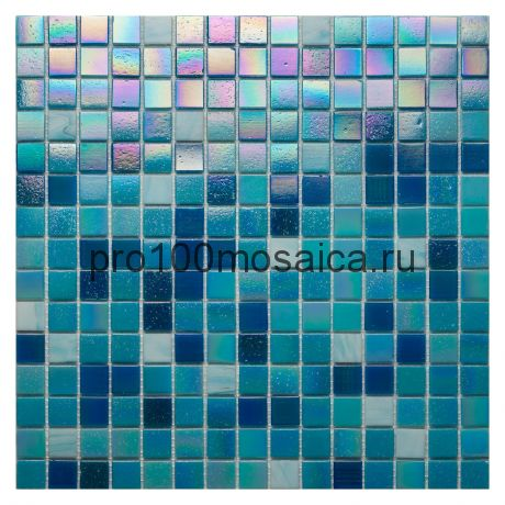 Parad Blue JC 718. Мозаика для бассейнов серия CLASSIC, вид MIX (СМЕСИ),  размер, мм: 327*327 (ORRO Mosaic)