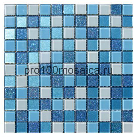 Blue Lagoon. Мозаика для бассейнов серия CRISTAL,  размер, мм: 295*295 (ORRO)