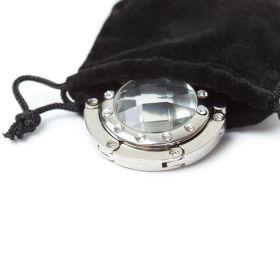 Держатель - крючок для сумок Elegant (серебристый)