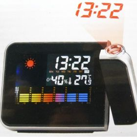 Часы-проектор с термометром
