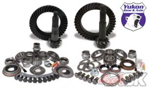 Yukon Gear & Install Kit package for Jeep TJ with Dana 30 front and Dana 44 rear, 4.56 ratio