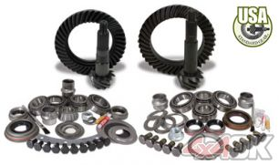 USA Standard Gear & Install Kit package for Jeep XJ & YJ with D30 front & Model 35 rear, 4.88 ratio