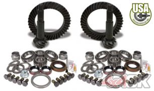 USA Standard Gear & Install Kit package for Jeep TJ Rubicon, 4.88 ratio