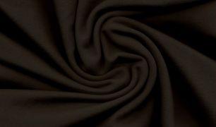 Черный  (с небольшим коричневым отливом) футер 2-х нитка