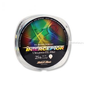 Леска плетеная Black Hole Interceptor Multicolor 150 м