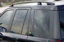 Рейлинги на крышу, Voyager, алюминиевые черные
